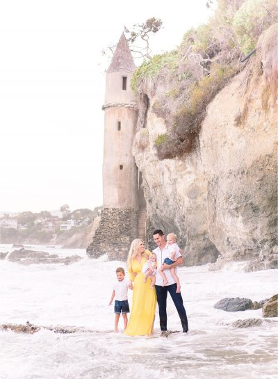 Scurr Family | Laguna Beach Family Session